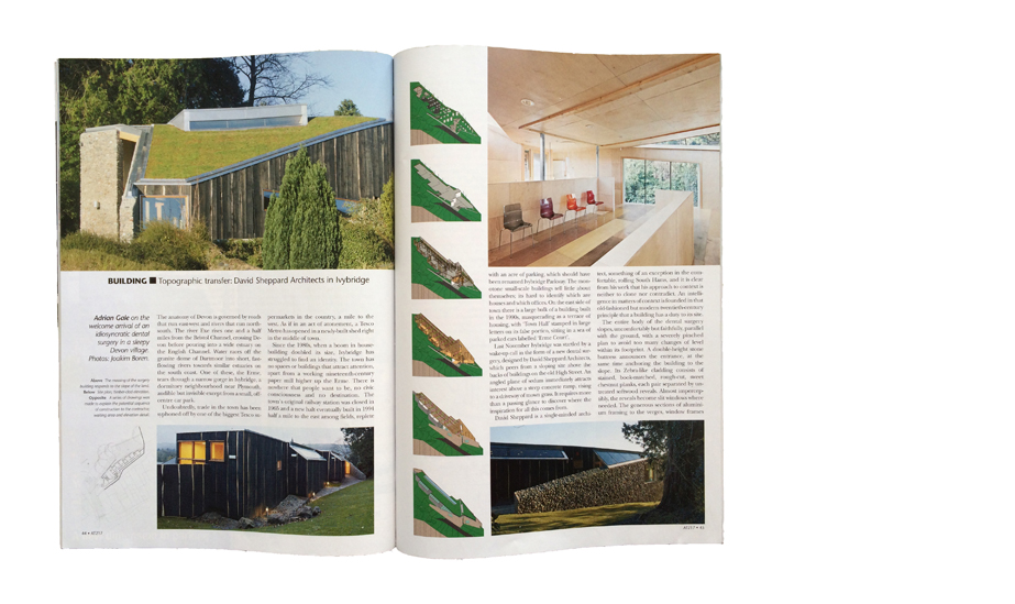 Article on Brown's Dental Practice in Architecture Today, April 2011