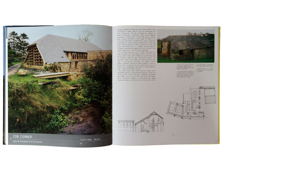 Cob Corner house & studio included in the book Conversions, published 2007